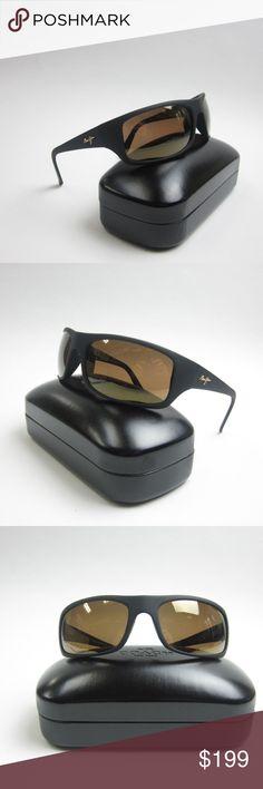 47613290cb3 MAUI JIM MJ202-2M Men s Sunglasses 65 19 120w case Frame is in