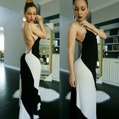 "Hot Miami styles maxi dress size small Hot Miami styles maxi dress size small Sexy open back.  My height is 5'8""   See anything else you like in my closet!!! Jus  ask me and I'll make you a listing with a  discount.  Se habla espa?ol ? Dresses Maxi"