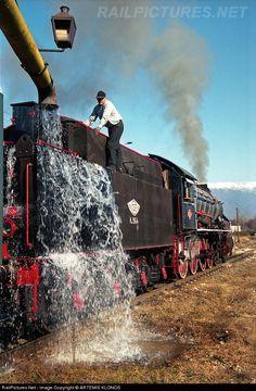 RailPictures.Net Photo: Λβ 964 OSE Hellenic Railways North British Locomotive Company, at Gallikos, Greece by ARTEMIS KLONOS