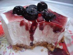 Greek Sweets, Greek Desserts, Easy Desserts, Easy Cheesecake Recipes, Sweets Recipes, Cheesecake Bars, Sweet Pastries, My Dessert, Recipes From Heaven