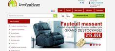 LiveYourHouse est la boutique en ligne spécialisée dans la vente par Internet de produits ménagers. Nous offrons des prix avantageux tout en maintenant la ligne de sécurité et de confiance.