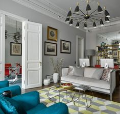 A MID-CENTURY APARTMENT IN RUSSIA - See more inspiring articles at: www.delightfull.eu/en/inspirations/