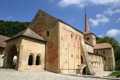 abbatiale de romainmotier, suisse