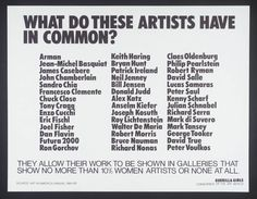 odalisque ingres guerrilla GIRLS - Buscar con Google