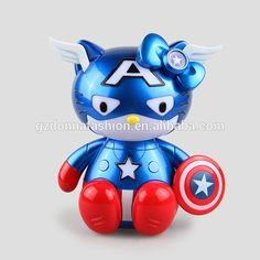 Wholesale PVC Q The Avenger Alliance 2 Action Figure, View captain America, donnatoyfirm Product Details from Guangzhou Donna Fashion Accessory Co., Ltd. on Alibaba.com