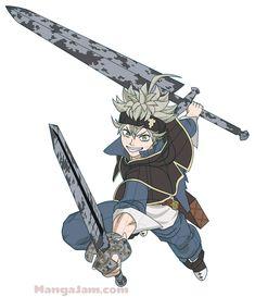 Afbeeldingsresultaat voor asta muscle black clover the anime