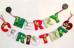 Christmas Greetings Messages For Boyfriend Christmas Bunting, Felt Christmas Decorations, Felt Christmas Ornaments, Handmade Christmas, Christmas Diy, Merry Christmas Banner Picture, Diy Ornaments, Beaded Ornaments, Christmas Background