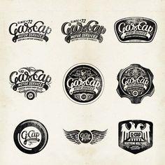 Gas Cap Motor's Branding on Typography Served