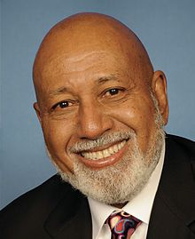 Alcee Lamar Hastings (born September 5, 1936) is the U.S. Representative for Florida's 20th congressional district, serving in Congress since 1993. He was educated at Fisk University (B.A., 1958) and Howard University. He received his law degree from Florida A & M University in 1963.