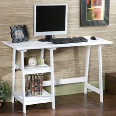 I pinned this Braxton Computer Desk from the Southern Hospitality event at Joss & Main!