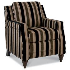 Dane Low Profile Recliner by La-Z-Boy. Fab in leather with nailhead trim, not this ugly fabric.