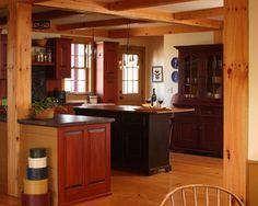 Red Cape - farmhouse - Kitchen - Portland Maine - Fine Lines Construction