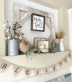 Beautiful Farmhouse Fall Decor Ideas 8328