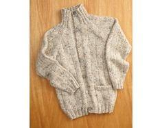 Fathers Day Cardigan Pattern (Knit)