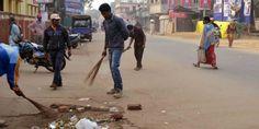 স্বচ্ছ ভারত অভিযানে সামিল পুজো উদ্যোক্তারা