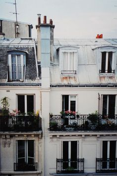paris balconies: i want to look out my window and see this one day