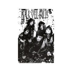 Black Veil Brides - B/W Band Poster ($9.99) ❤ liked on Polyvore featuring home, home decor, wall art, black veil brides, bands, bvb, pictures, poster, black home decor and black and white picture