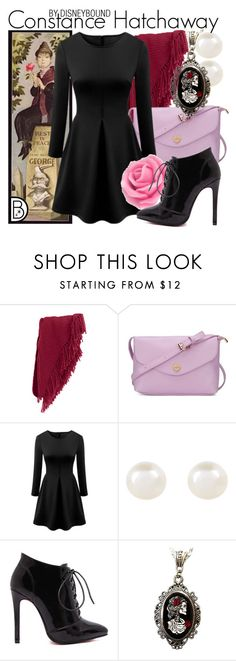 """""""Constance Hatchaway"""" by leslieakay ❤ liked on Polyvore featuring Forzieri, Accessorize, Alkemie, women's clothing, women, female, woman, misses, juniors and disney"""