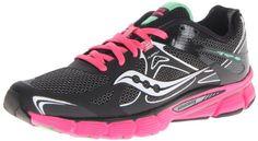 Saucony Women's Mirage Running Shoe,Black/Green,8 M US Saucony http://www.amazon.com/dp/B00CWB0OVK/ref=cm_sw_r_pi_dp_6M2Awb1NQ0V0Z