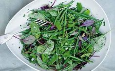 Green bean salad with mustard seeds and tarragon-Crunch time with Yotam Ottolenghi