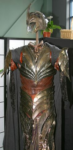 The Lord of the Rings elven armor