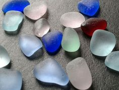 Brilliant Vivid Surf Tumbled Beach Gems Flawless Genuine Sea Glass Lot Red Jq | Crafts, Glass & Mosaics, Beach Glass - Surf-Tumbled | eBay!