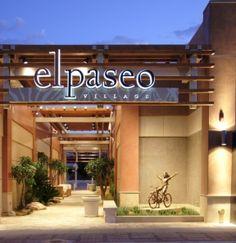 El Paseo - A shopper's paradise in Palm Desert, Ca.