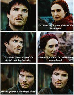 GoT - Gendry and Melisandre