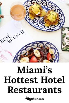 It's not hard to eat well in Miami, as it's an exciting time for its culinary scene, but the question is where? From a farm-to-table hot spot in Mid Beach to authentic Latin American cuisine in the luxurious South of Fifth neighborhood, eat your way around Miami Beach at these five hotel restaurants.