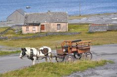 Inis Oirr - Inisheer is the smallest and most eastern of the three Aran Islands in Galway Bay, Ireland