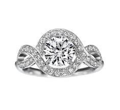 Bagues de fiançailles Harry Winston Lily Cluster solitaire diamants