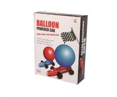 Keycraft | Discovery | Balloon Powered Cars Experiment Kit
