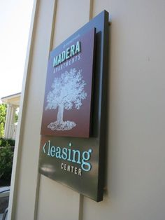 New Leasing Office Sign for Madera Apartments by www.MarketshareOnline.com