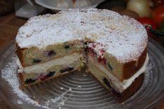Lemon Berry Mascarpone Cake | Let's Get Cooking