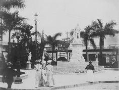 Parque de Albear en 1903.