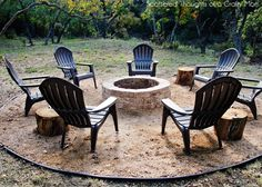 Simple DIY Outdoor Fire Pit | Scattered Thoughts of a Crafty Mom