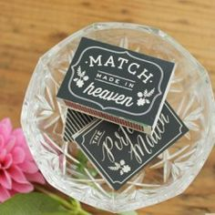 101 Wedding Printables {free} - EverythingEtsy.com - match books for wedding favors