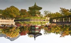 Facing Garden, Gyeongbok Palace, Traditional