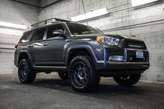 Used 2011 Toyota with miles at Northwest Motorsport in Puyallup, WA. Buy a used Gray Toyota 2011 4runner, Lifted 4runner, Toyota 4runner Trd, Toyota Lift, Toyota 4x4, Toyota Trucks, Runner Runner, Suv Trucks, Off Road Adventure