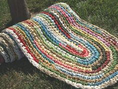 Custom Made Crocheted Rag Rugs!!