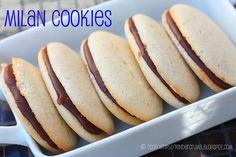 Homemade milano cookies, just like pepperidge farm!!!