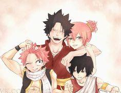 Fairy Tail, Dragneel, Natsu, Zeref