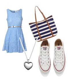 """""""Untitled #493"""" by heden-fun ❤ liked on Polyvore featuring Glamorous, Converse, Monsoon and Pandora"""