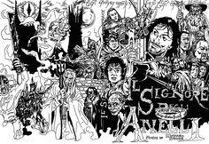 DANIELE DE CRESCENZO  Lord of the Rings OST custom cover.