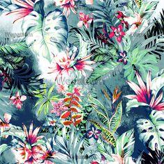 HAWAII DREAM Standart License : 50$ Online Prints & Patterns #womens #kidswear #fashion #fashionable #mans #pattern #print #design #moda #trend #newyork #london #fashionweek #premiervision #istanbul #style #moscow #flowers #wepattern #surfacedesign, #flowers