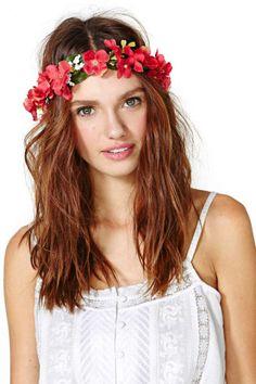 Festival Blooms Floral Crown