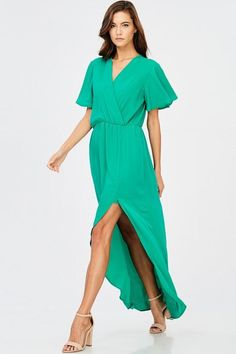 ELEGANT MAXI DRESS - KELLY GREEN $39.00   https://www.bluechicboutique.com/collections/dresses/products/elegant-maxi-dress-kelly-green