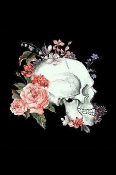 Skull Tattoos Tattoo Flowers Flower Sugar Drawings Skulls