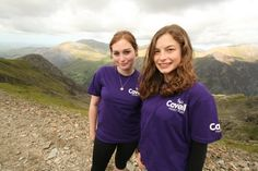 Charlotte and Daisy climbed Snowdon for us on 31st August 2013 - Thanks ladies :)