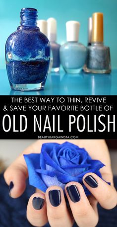 How to thin old lumpy polish nails hair and makeup pinterest do you want to thin out your favorite nail polish color that has gotten too thick solutioingenieria Gallery